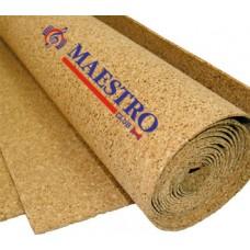 Подложка пробковая рулонная Maestro 3мм