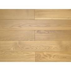 Массивная доска Amber Wood Дуб Attic Селект Лак 18х120х300-1500 мм