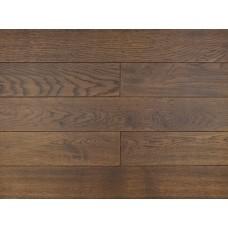 Массивная доска Amber Wood Дуб Ebony Лак Состаренный 18х125х300-1400 мм