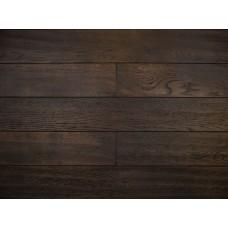 Массивная доска Amber Wood Дуб Jawa Лак Состаренный 18х125х300-1400 мм