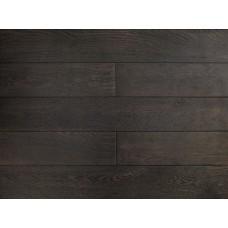 Массивная доска Amber Wood Дуб Licorice Браш Лак 18х125х300-1400 мм