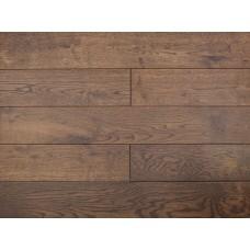 Массивная доска Amber Wood Дуб Patina Браш Лак 18х125х300-1400 мм