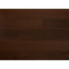 Массивная доска Amber Wood Дуб Шоколад Браш Лак 18х120х300-1800 мм