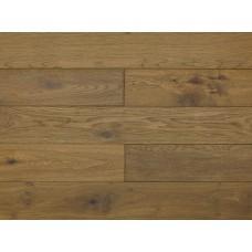 Массивная доска Amber Wood Дуб Smoked Браш Матовый Лак 18х125х300-1400 мм