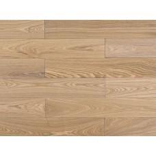 Массивная доска Amber Wood Ясень Карамель Лак 18х120х300-1800 мм