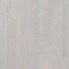 Паркетная доска POLARWOOD 3-x полосная Дуб Milky Way White Matt