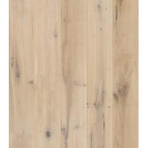 Паркетная доска BARLINEK 1-х полосная Дуб Ivory Grande brush 5G масло